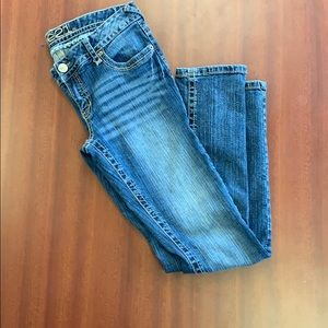 Rue21 low rise skinny jeans.